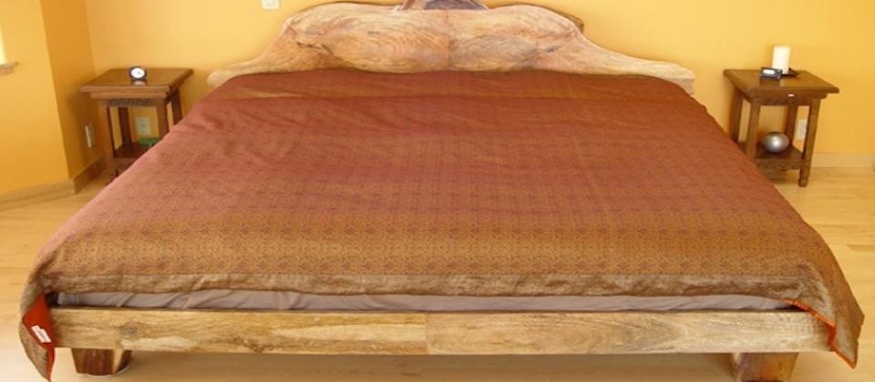 Bed-Handmade-Maui-Koa-Hardwood